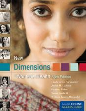New Dimensions in Women's Health. Text with Access Code