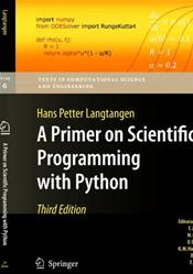 Primer on Scientific Programming with Python