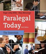 Paralegal Today: The Legal Team at Work: The Essentials