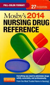Mosby's Nursing Drug Reference 2014