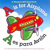A is for Airplane/A Es Para Avion (English/Spanish)