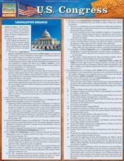 U.S. Congress Laminated Reference Chart