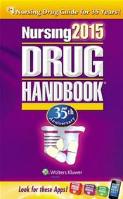 Nursing Drug Handbook 2015