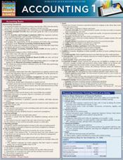 Accounting 1 Laminated Reference Chart