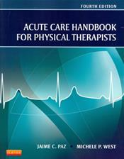 Acute Care Handbook for Physical Therapists Cover Image