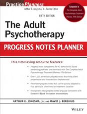 Adult Psychotherapy Progress Notes Planner Cover Image