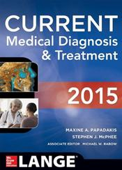Current Medical Diagnosis and Treatment 2015 Image