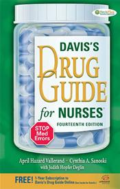 Davis' Drug Guide for Nurses. Text with Access Code