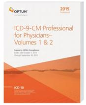 ICD-9-CM 2015: Professional for Physicians. Volumes 1 & 2 in 1 Book