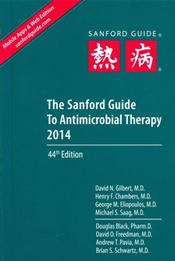 Sanford Guide to Antimicrobial Therapy 2014. Large Print Library Edition