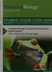 MasteringBiology with Pearson eText -- Standalone Access Code -- for Campbell Biology: Concepts and Connections