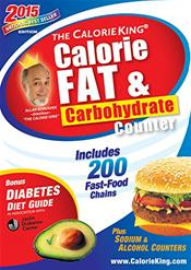 Calorie King: Calorie, Fat and Carbohydrate Counter 2015