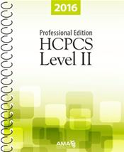 HCPCS 2016: Level II Professional Edition