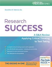 Research Success: A Q&A Review Applying Critical Thinking to Test Taking. Text with Access Code