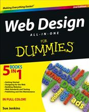 Web Design All-in-One for Dummies. 5 Books in 1