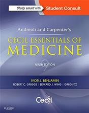 Andreoli and Carpenters Cecil Essentials of Medicine. Text with Access Code (Student Consult) Cover Image