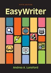 EasyWriter. Text with Access Code for 1 Year Access
