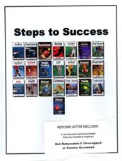 Steps to Success: e-Book Service 2015. Access Code