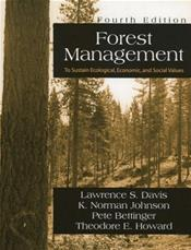 Forest Management: To Sustain Ecological, Economic, And Social Values