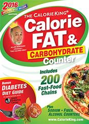 Calorie King: Calorie, Fat and Carbohydrate Counter 2016
