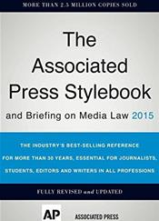 Associated Press Stylebook 2015