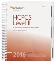 Expert 2016: HCPCS Level II. A Resourceful Compilation of HCPCS Codes