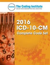 ICD-10-CM 2016: Complete Code Set