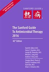 Sanford Guide to Antimicrobial Therapy 2016
