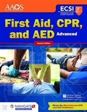 First Aid, CPR, and AED: Advanced. Text with Access Code Cover Image