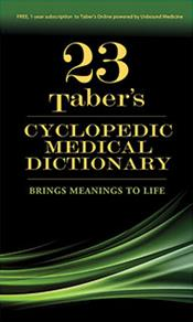 Taber's Cyclopedic Medical Dictionary. Thumb-indexed Version