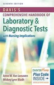 Davis's Comprehensive Handbook of Laboratory and Diagnostic Tests with Nursing Implications. Text with Access Code