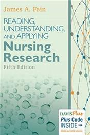 Reading, Understanding, and Applying Nursing Research. Text with Access Code