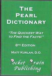 Pearl Dictionary