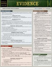 Evidence Laminated Reference Card