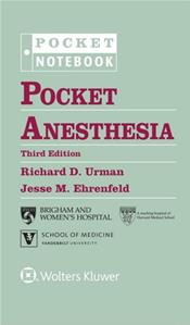 Pocket Anesthesia. Includes 4-Ring Binder Cover Image