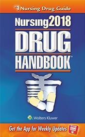 Nursing Drug Handbook 2018. Text with Access Code