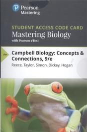 Mastering Biology with Pearson eText for Campbell Biology: Concepts & Connections. Access Code