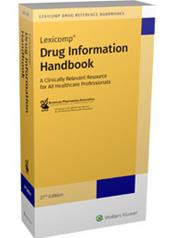 Drug Information Handbook: A Clinically Relevant Resource for All Healthcare Professionals Cover Image