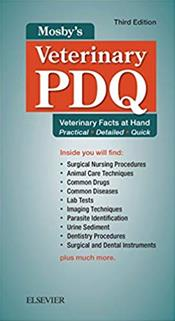 Mosby's Veterinary PDQ: Veterinary Facts at Hand, Practical, Detailed, Quick
