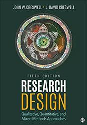 Research Design: Qualitative, Quantitative, and Mixed Method Approaches
