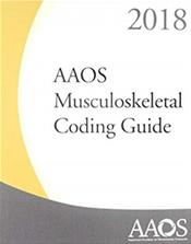 AAOS Musculoskeletal Coding Guide 2018
