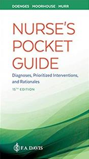 Nurse's Pocket Guide: Diagnoses, Prioritized Interventions, and Rationales. Text with Access Code