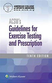 ACSM Guidelines  Spiral and Health Related Physical Fitness Assessment  Package Cover Image