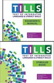Test of Integrated Language and Literacy Skills (Tills) Examiner's Kit