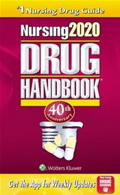 Nursing Drug Handbook 2020