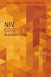 NIV, Gospel of John, Reader's Edition Booklet