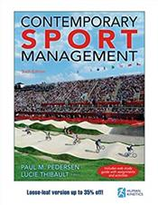 Contemporary Sport Management. Text with Access Code