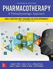 Pharmacotherapy: A Pathophysiologic Approach