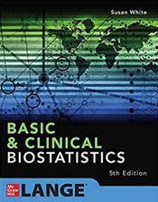 Basic and Clinical Biostatistics