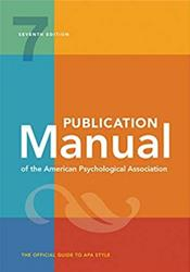 Publication Manual of the American Psychological Association: The Official Guide to APA Style